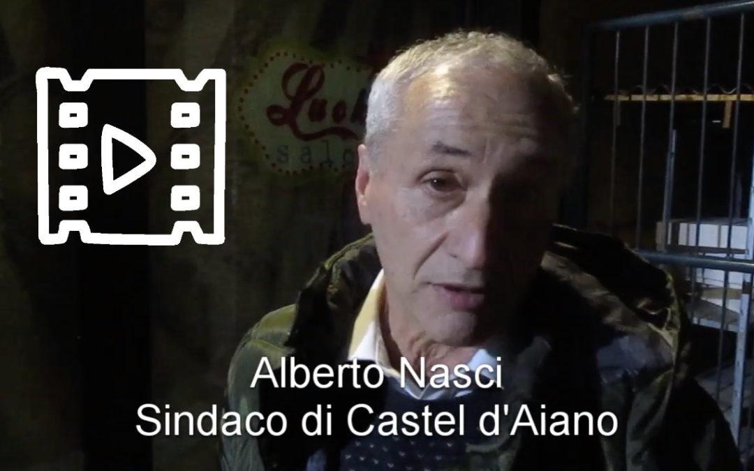 Alberto Nasci, Sindaco di Castel d'Aiano