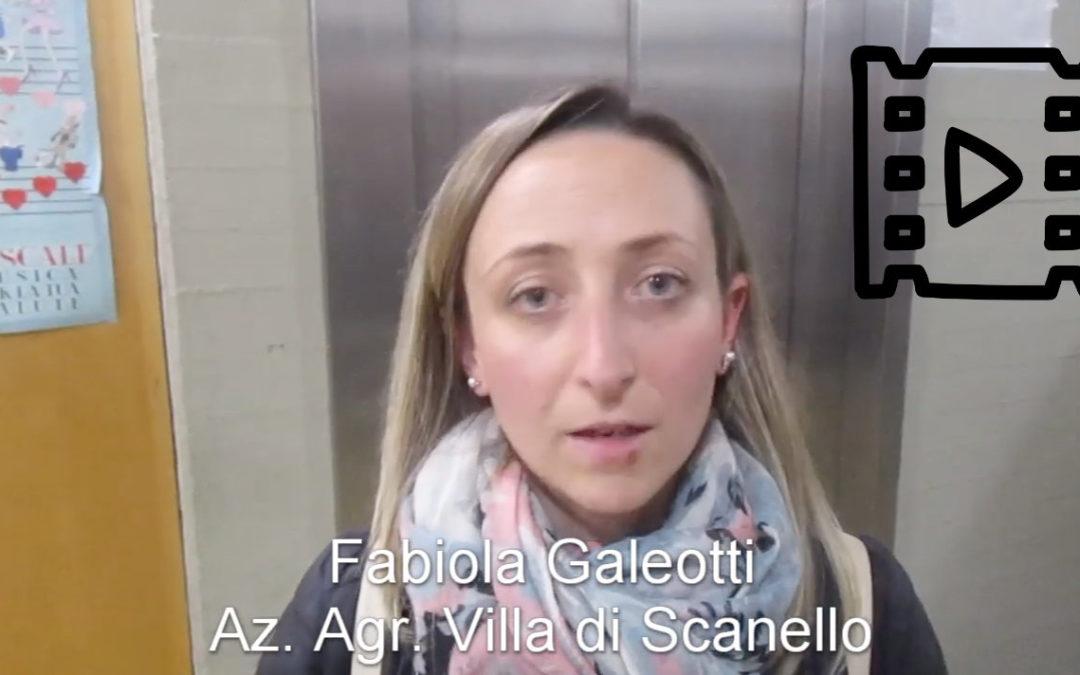 Fabiola Galeotti, Villa di Scanello