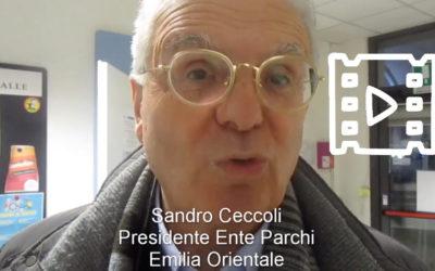 Sandro Ceccoli, Presidente Ente Parchi Emilia Orientale